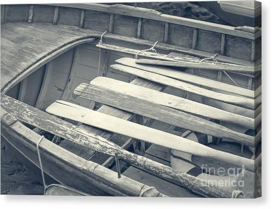Oars Canvas Print
