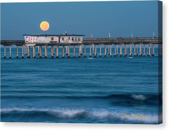 Canvas Print featuring the photograph O B Morning by Dan McGeorge