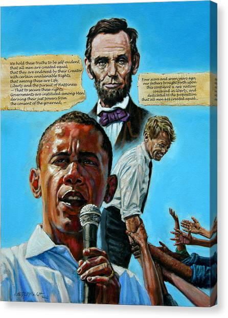 Obamas Heritage Canvas Print