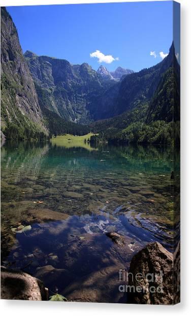 Environment Canvas Print - Obersee by Nailia Schwarz
