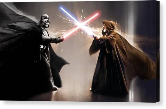 Obi-wan Kenobi Canvas Print - Obi Wan by James