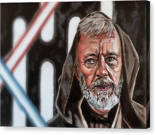 Obi-wan Kenobi's Last Stand Canvas Print