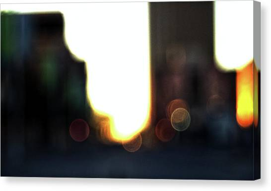 Obscure City Canvas Print