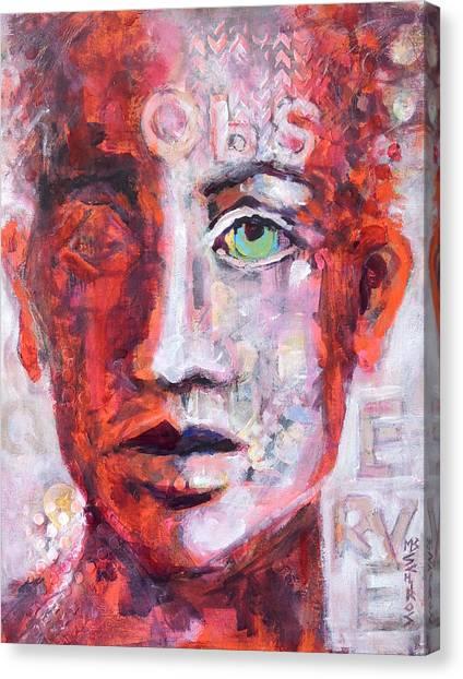 Observe Canvas Print