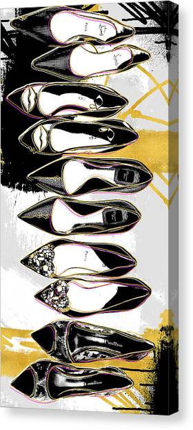 Fashion Canvas Print - Obsessions by Canvas Cultures