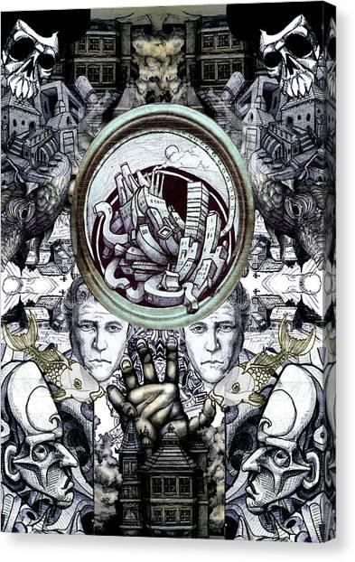 Obsessive Compulsion Canvas Print by John Baker