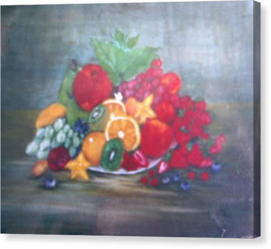 Obst Canvas Print by Rosario Triglia