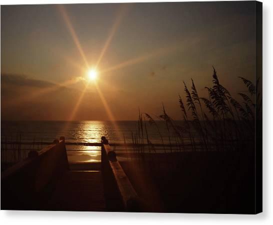 Obx Sunrise Canvas Print by JAMART Photography