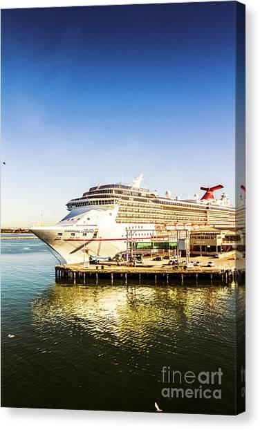 Cruise Ships Canvas Print - Ocean Adventure by Jorgo Photography - Wall Art Gallery