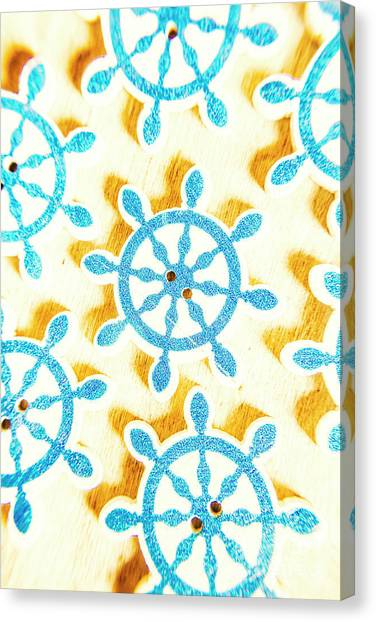 Yacht Canvas Print - Ocean Circles by Jorgo Photography - Wall Art Gallery