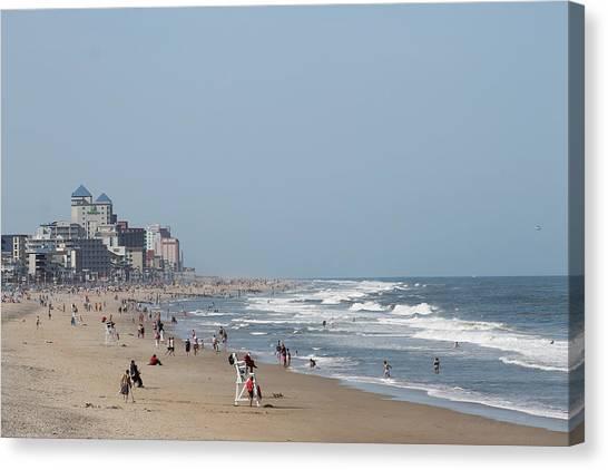 Ocean City Maryland Beach Canvas Print