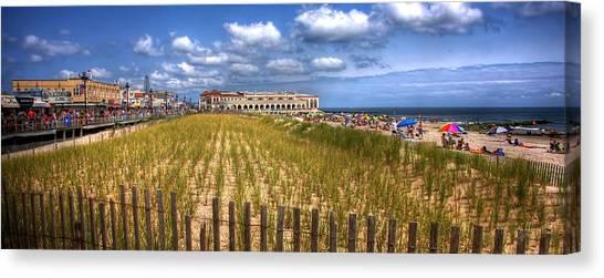 Ocean City Panorama Canvas Print