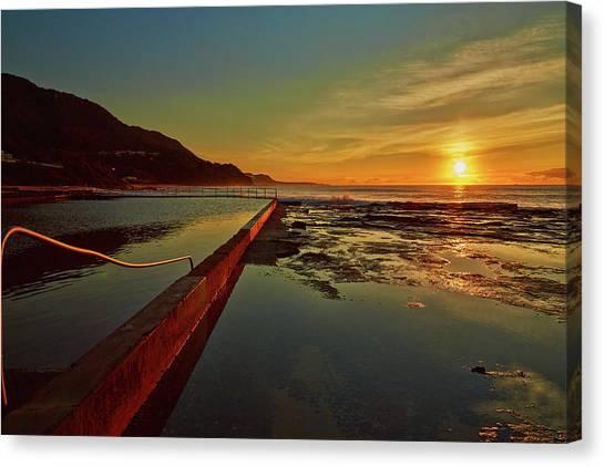 Ocean Dawn Canvas Print