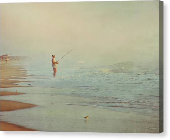 Ocean Fishing Canvas Print by JAMART Photography