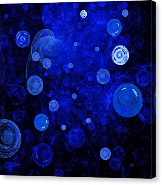 Ocean Gems Canvas Print by Menega Sabidussi