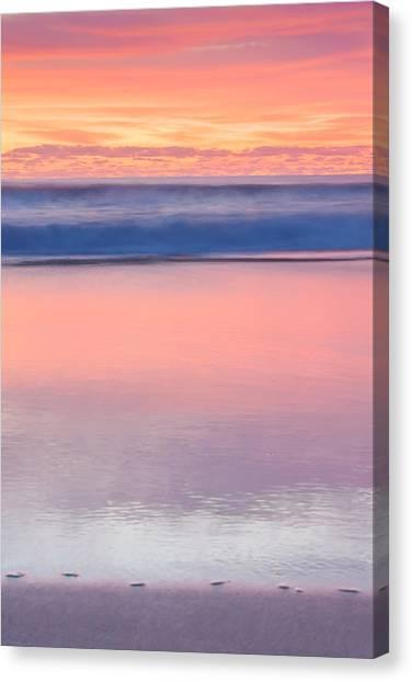 Sunrise Horizon Canvas Print - Ocean Glow by Az Jackson