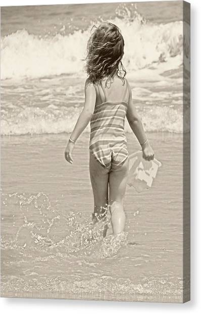 Ocean Moment Canvas Print by JAMART Photography