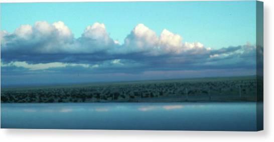 Ocean Of Sky Canvas Print