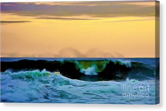Ocean Power Canvas Print