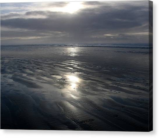 Ocean Shores  Canvas Print by Ty Nichols