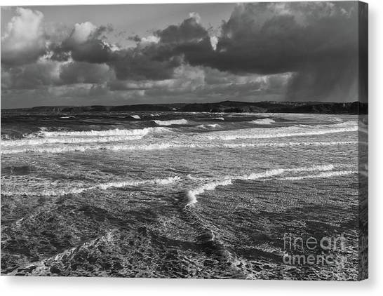 Ocean Storms Canvas Print
