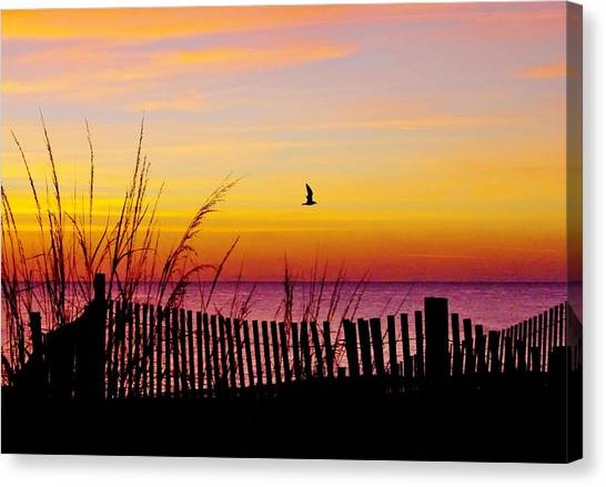 Ocean Sunrise Canvas Print