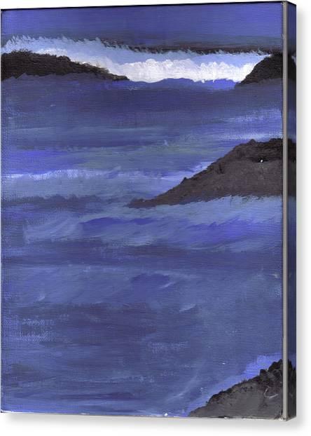 Ocean View Canvas Print by Lynnette Jones