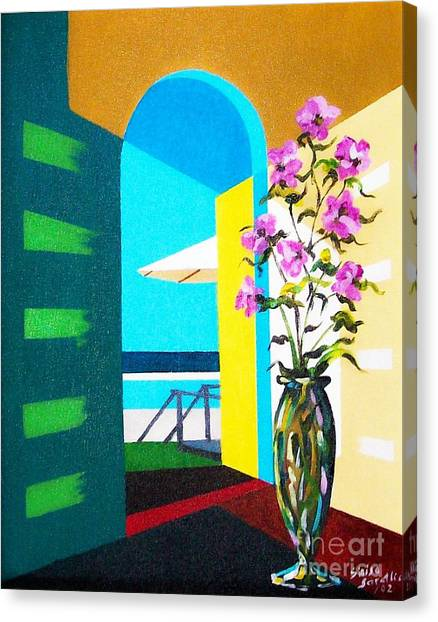 Ocean View Canvas Print by Sinisa Saratlic