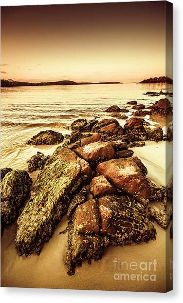 Southern Rock Canvas Print - Oceanic Harmony by Jorgo Photography - Wall Art Gallery
