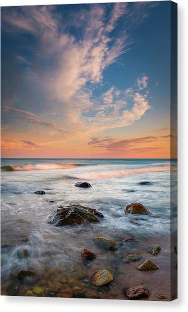 Ocean's Jewels Canvas Print
