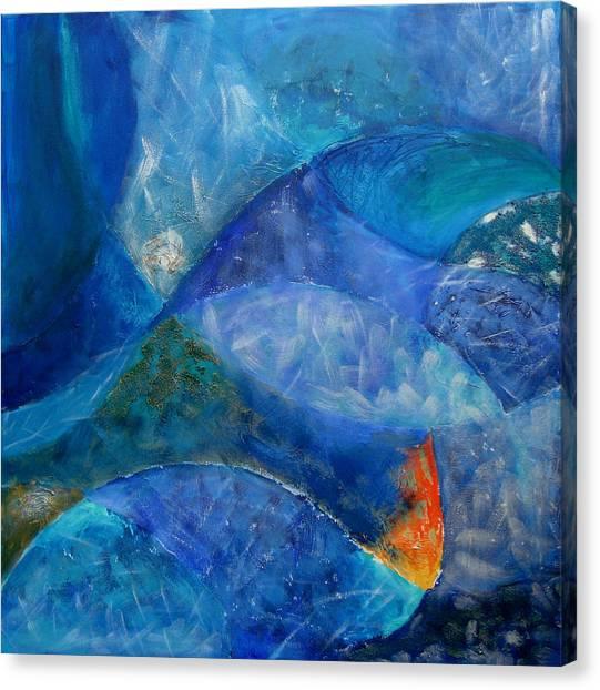 Ocean Canvas Print - Ocean's Lullaby by Aliza Souleyeva-Alexander