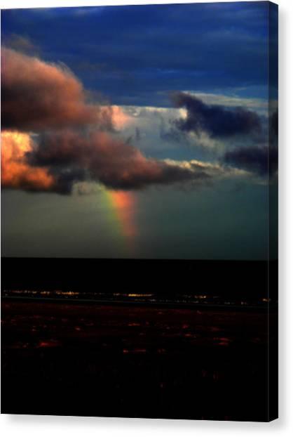 Canvas Print - Ocean's Rainbow by Cynthia Leaphart