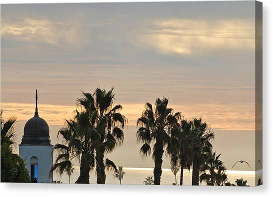 Oceanside Sky Canvas Print by Jean Booth
