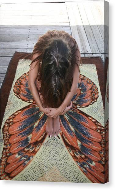 Ochopee Fl. Butterfly Canvas Print
