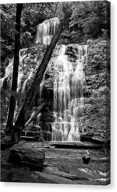 Oconee Station Falls IIi Canvas Print