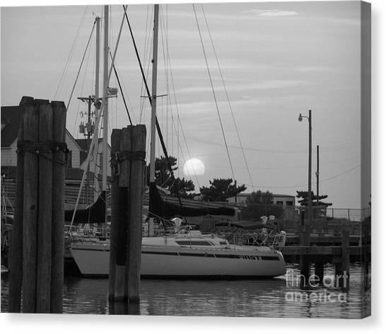 Ocracoke Sunset  Canvas Print by Randy Edwards