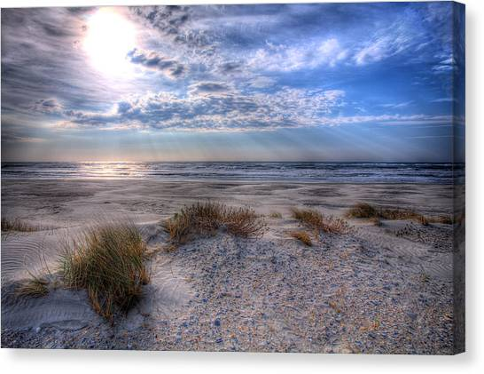 Ocracoke Winter Dunes II Canvas Print