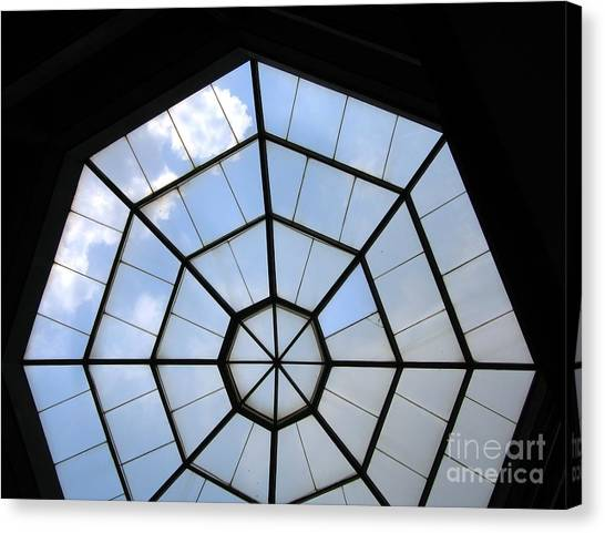 Octagon Skylight Canvas Print