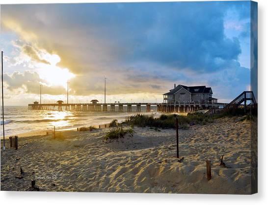 October 3 2016 Obx Sunrise Canvas Print