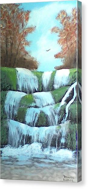 October Falls Canvas Print
