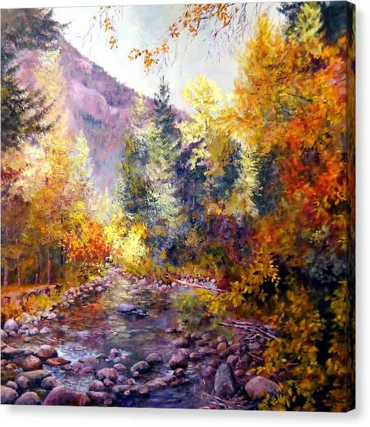 October River Canvas Print