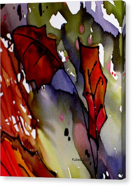 Octoberfirst Canvas Print by Susan Kubes