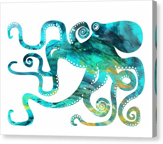 You Canvas Print - Octopus 2 by Donny Art
