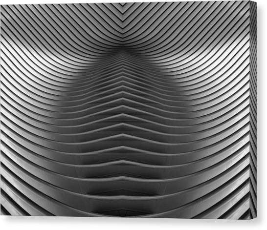 Oculus Abstract Canvas Print