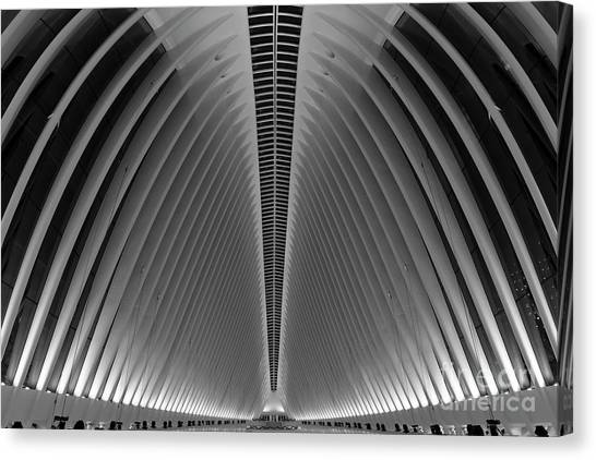 Oculus World Trade Center  Canvas Print