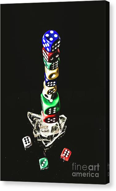 Wager Canvas Print - Odds Stacked Up by Jorgo Photography - Wall Art Gallery