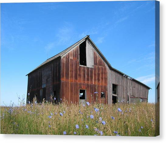 Odell Barn I Canvas Print