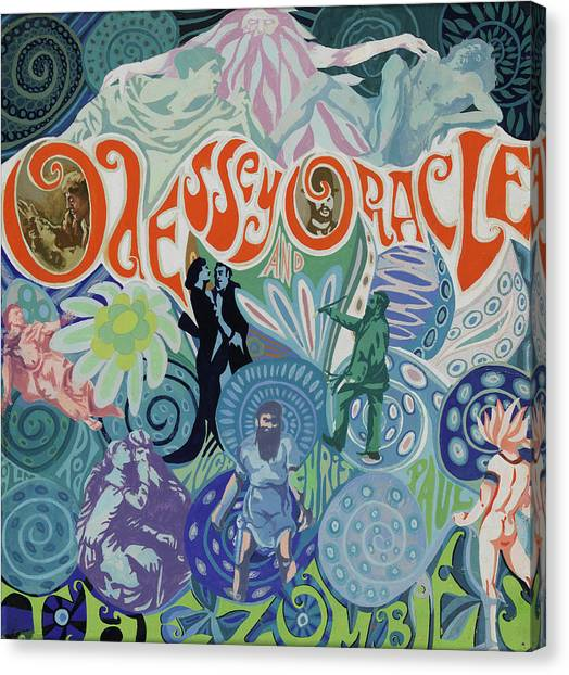 Canvas Print - Odessey And Oracle - Album Cover Artwork by The Zombies Official