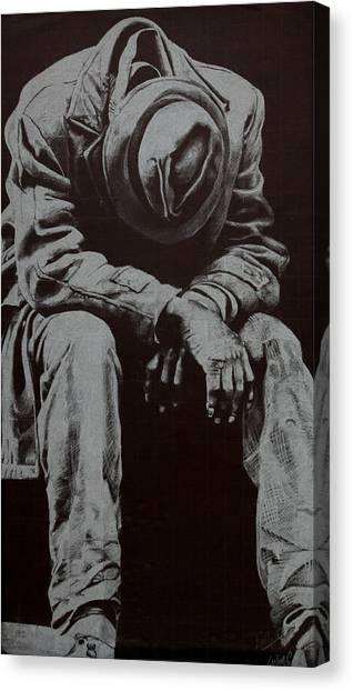 Odis Canvas Print by Lamark Crosby