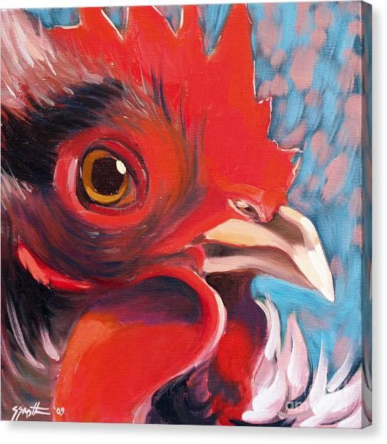 Oeil De Poulet Canvas Print